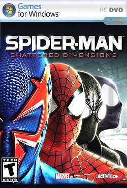 Spider Man Shattered Dimensions Механики