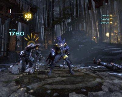 Batman Arkham Origins Механики