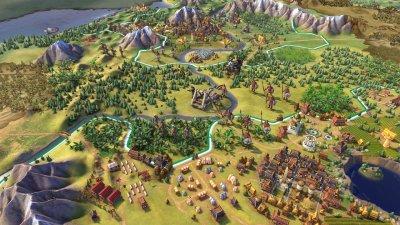 Цивилизация 6 Механики
