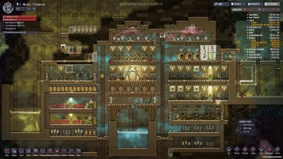 Oxygen Not Included Механики