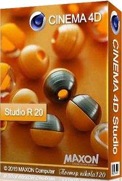 Maxon CINEMA 4D Studio R20